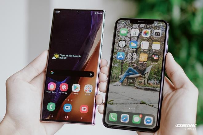 So sánh nhanh Galaxy Note20 Ultra với iPhone 11 Pro Max: Một chín một mười? - Ảnh 9.