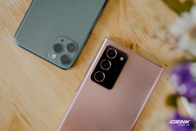 So sánh nhanh Galaxy Note20 Ultra với iPhone 11 Pro Max: Một chín một mười? - Ảnh 3.