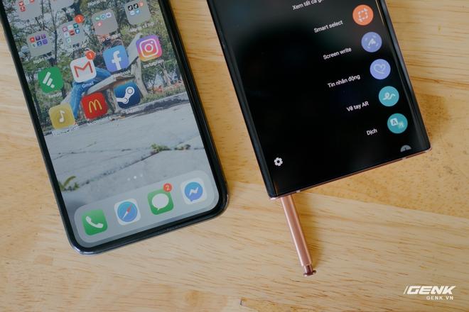 So sánh nhanh Galaxy Note20 Ultra với iPhone 11 Pro Max: Một chín một mười? - Ảnh 10.