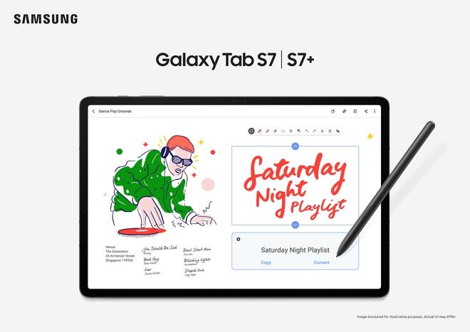 Samsung ra mắt Galaxy Tab S7 và S7+ tại VN, giá từ 19 triệu đồng - Ảnh 3.