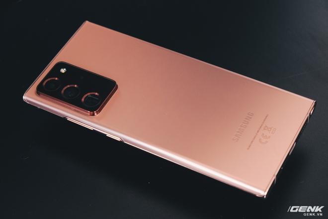 Đánh giá Galaxy Note20 Ultra: Thắng thế vì đối thủ thất thế - Ảnh 2.