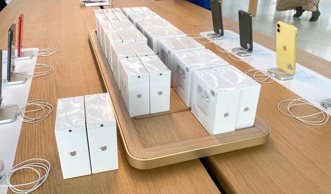 Tham quan Apple Store hình cầu nổi trên mặt nước vừa mới được khai trương tại Singapore - Ảnh 14.