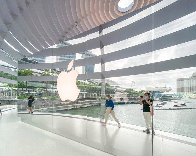 Tham quan Apple Store hình cầu nổi trên mặt nước vừa mới được khai trương tại Singapore - Ảnh 15.