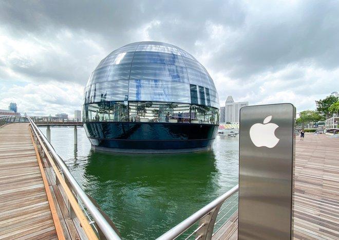 Tham quan Apple Store hình cầu nổi trên mặt nước vừa mới được khai trương tại Singapore - Ảnh 16.