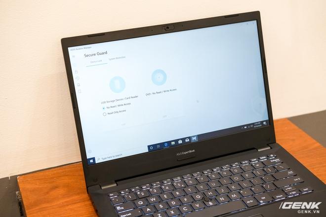 Cận cảnh ASUS ExpertBook P2: Bản laptop doanh nhân giá mềm của B9, chạy Core i thế hệ 10, độ bền chuẩn quân đội, pin 13 tiếng - Ảnh 6.