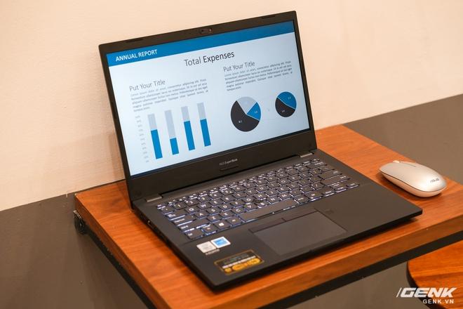 Cận cảnh ASUS ExpertBook P2: Bản laptop doanh nhân giá mềm của B9, chạy Core i thế hệ 10, độ bền chuẩn quân đội, pin 13 tiếng - Ảnh 2.