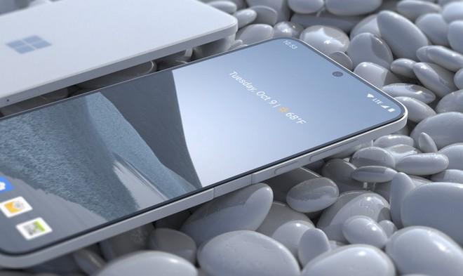 Ngắm ý tưởng Surface Solo: Chiếc smartphone truyền thống, không gập và không biết Microsoft có tính làm hay không - Ảnh 2.
