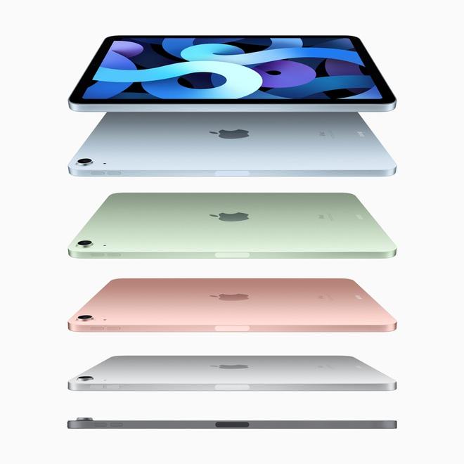 iPad Air 4 ra mắt: Thiết kế giống iPad Pro, chip A14 Bionic, USB-C, giá từ 599 USD - Ảnh 2.