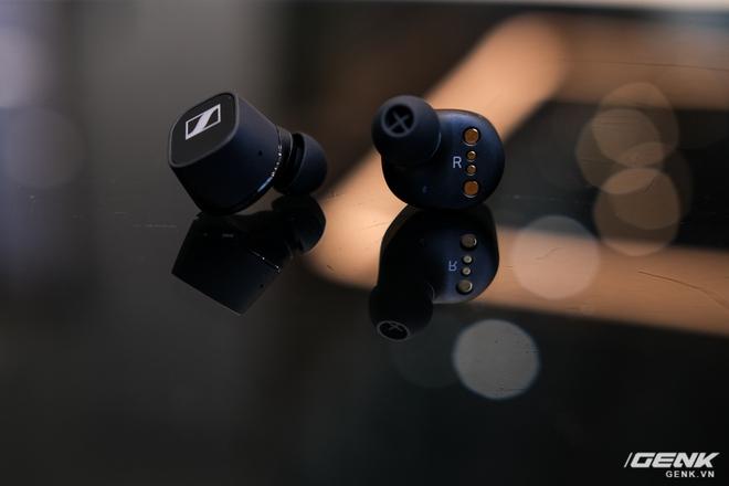 Cận cảnh tai nghe True Wireless tầm trung CX 400BT của Sennheiser: Housing vuông vức, cắt bỏ ANC và kháng nước, giá 5,4 triệu đồng - Ảnh 9.