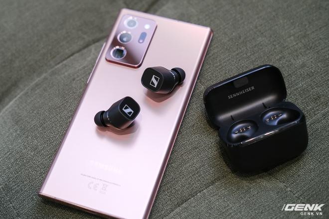 Cận cảnh tai nghe True Wireless tầm trung CX 400BT của Sennheiser: Housing vuông vức, cắt bỏ ANC và kháng nước, giá 5,4 triệu đồng - Ảnh 8.