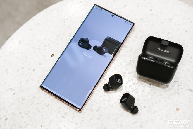 Cận cảnh tai nghe True Wireless tầm trung CX 400BT của Sennheiser: Housing vuông vức, cắt bỏ ANC và kháng nước, giá 5,4 triệu đồng - Ảnh 12.