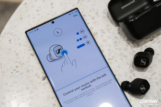 Cận cảnh tai nghe True Wireless tầm trung CX 400BT của Sennheiser: Housing vuông vức, cắt bỏ ANC và kháng nước, giá 5,4 triệu đồng - Ảnh 13.