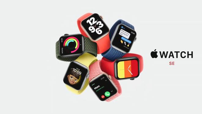 Apple ra mắt Apple Watch SE giá rẻ: Thiết kế giống Series 6, giá từ 279 USD - Ảnh 1.