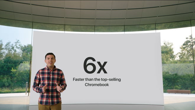 iPad 8 chính thức ra mắt với tuyên bố cà khịa cả thế giới của Apple: nhanh hơn tất cả các đối thủ khác - Ảnh 3.