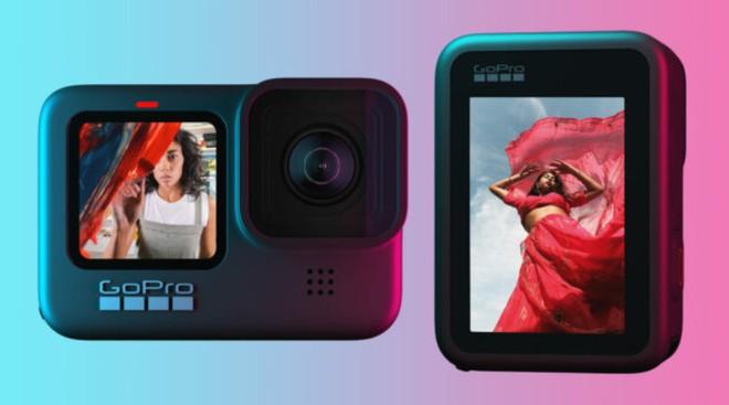 GoPro Hero 9 Black trình làng: Hỗ trợ quay video 5K 30fps, có màn hình phụ LCD mặt trước, thời lượng pin tăng 30% - Ảnh 3.