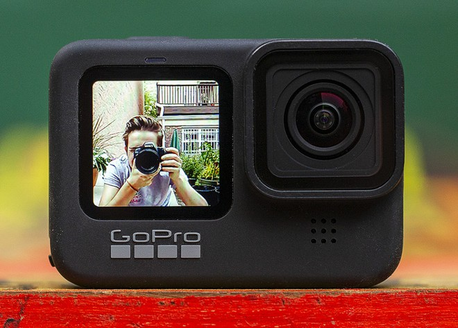 GoPro Hero 9 Black trình làng: Hỗ trợ quay video 5K 30fps, có màn hình phụ LCD mặt trước, thời lượng pin tăng 30% - Ảnh 1.