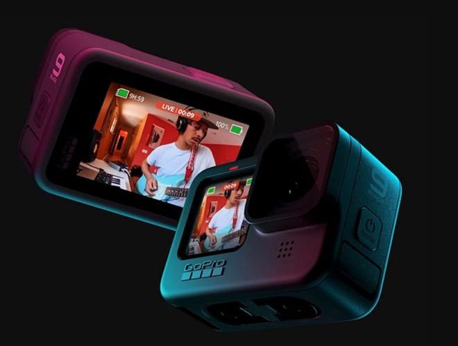 GoPro Hero 9 Black trình làng: Hỗ trợ quay video 5K 30fps, có màn hình phụ LCD mặt trước, thời lượng pin tăng 30% - Ảnh 2.