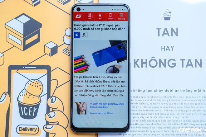 Cận cảnh Realme 7: Smartphone đầu tiên trên thế giới chạy Helio G95, trang bị 4 camera cảm biến Sony, màn 90Hz, sạc nhanh 30W, sẽ có giá chính thức tại Việt Nam vào ngày 21/9 - Ảnh 11.