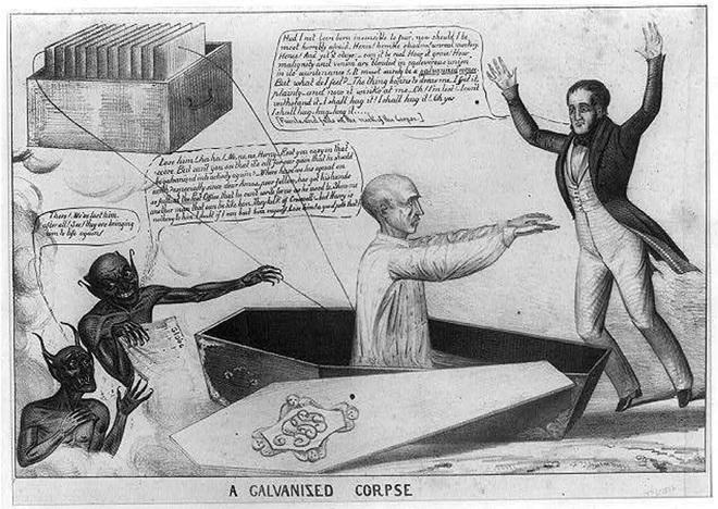 Vào những năm 1800 nhân loại đã cố gắng tạo ra Frankenstein ngoài đời thực bằng cách kích điện xác chết - Ảnh 7.