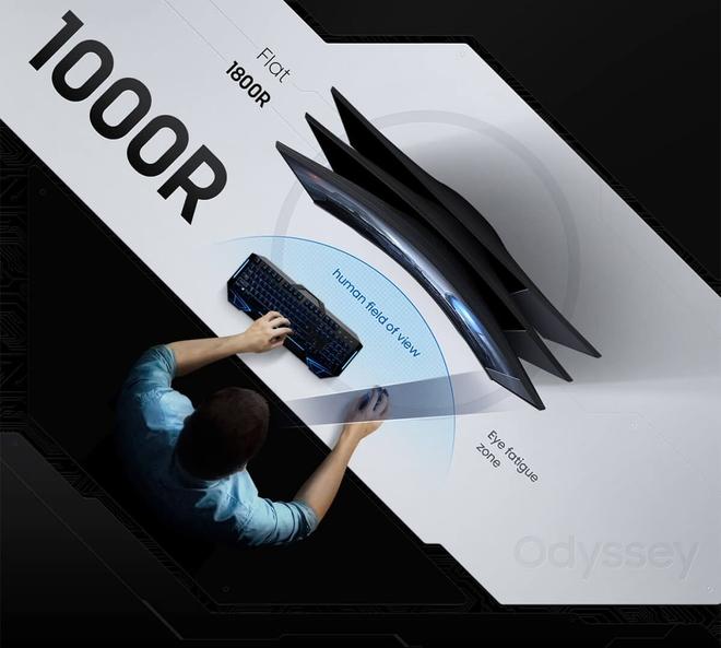 Samsung ra mắt màn hình gaming cong Odyssey G5 tại VN: Độ phân giải 2K, tần số quét 144Hz, HDR10... - Ảnh 2.