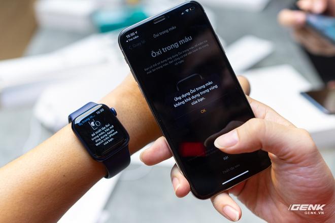 Trên tay Apple Watch Series 6: Tính năng ăn tiền nhất lại không sử dụng được ở VN - Ảnh 7.