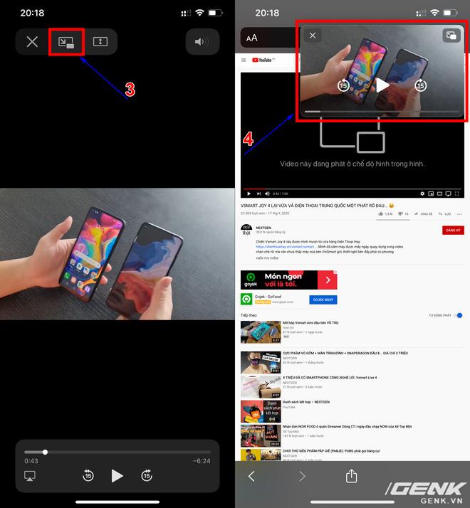 YouTube chặn tính năng Picture-in-Picture của iOS 14 trên iPhone - Ảnh 5.