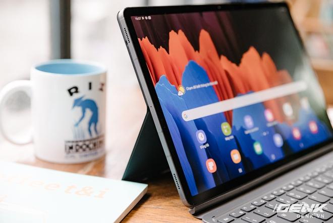 Cận cảnh Galaxy Tab S7+ : thiết kế sang trọng, màn hình 12.4 inch 120Hz, Snapdragon 865+, giá 24 triệu đồng - Ảnh 9.
