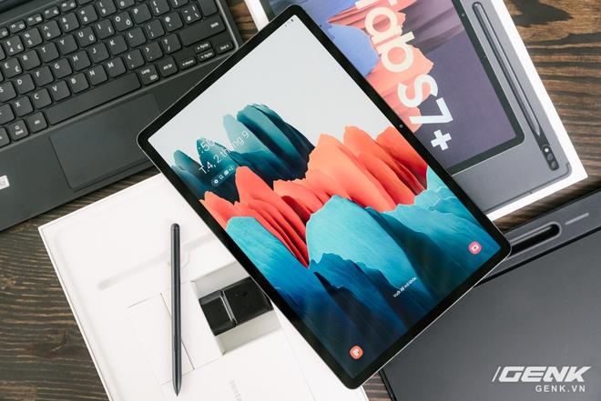 Cận cảnh Galaxy Tab S7+ : thiết kế sang trọng, màn hình 12.4 inch 120Hz, Snapdragon 865+, giá 24 triệu đồng - Ảnh 13.