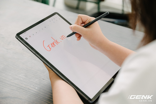 Cận cảnh Galaxy Tab S7+ : thiết kế sang trọng, màn hình 12.4 inch 120Hz, Snapdragon 865+, giá 24 triệu đồng - Ảnh 11.
