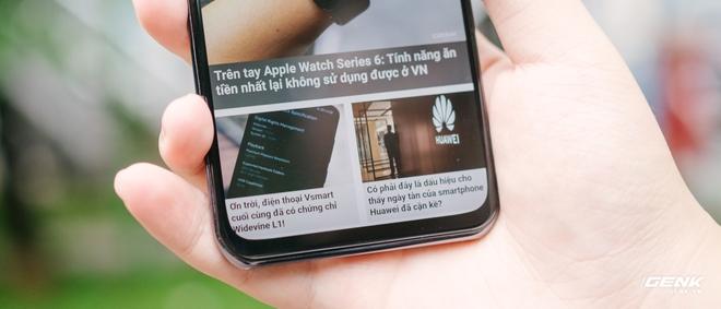 Trên tay smartphone có camera ẩn dưới màn hình đầu tiên trên thế giới: Chất lượng không như kỳ vọng - Ảnh 8.