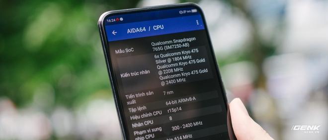 Trên tay smartphone có camera ẩn dưới màn hình đầu tiên trên thế giới: Chất lượng không như kỳ vọng - Ảnh 17.
