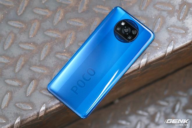 Cận cảnh POCO X3 NFC tại Việt Nam: Chạy Snapdragon 732G mới nhất, màn 120Hz, cụm camera hơi thô, bù lại có tính năng quay vlog rất đáng dùng - Ảnh 4.