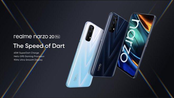 Realme ra mắt Narzo 20 series: Màn hình 90Hz, sạc nhanh 65W, giá từ 2.7 triệu đồng - Ảnh 2.
