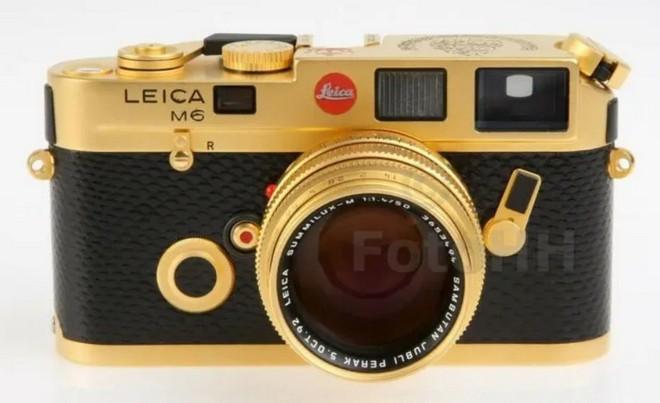 Ngắm Leica M6 bản mạ vàng siêu hiếm, giá lên tới gần 30 ngàn USD của hoàng gia Brunei - Ảnh 2.