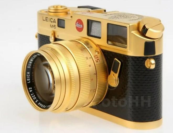 Ngắm Leica M6 bản mạ vàng siêu hiếm, giá lên tới gần 30 ngàn USD của hoàng gia Brunei - Ảnh 3.