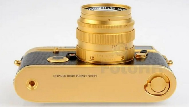 Ngắm Leica M6 bản mạ vàng siêu hiếm, giá lên tới gần 30 ngàn USD của hoàng gia Brunei - Ảnh 5.