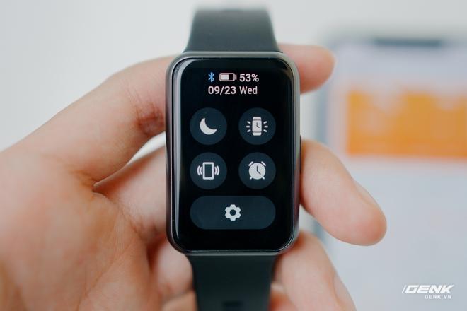 Trên tay Huawei Watch Fit: Smartwatch giá rẻ có đo nồng độ oxy trong máu - Ảnh 10.