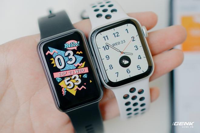 Trên tay Huawei Watch Fit: Smartwatch giá rẻ có đo nồng độ oxy trong máu - Ảnh 12.