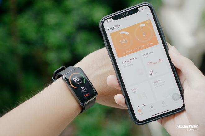 Trên tay Huawei Watch Fit: Smartwatch giá rẻ có đo nồng độ oxy trong máu - Ảnh 7.