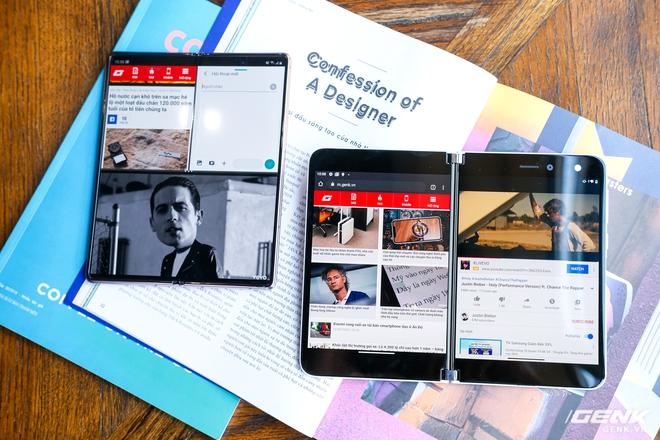 Samsung Galaxy Z Fold2 vs. Microsoft Surface Duo: Cuộc chiến giữa hai gã smartphone dị biệt - Ảnh 19.