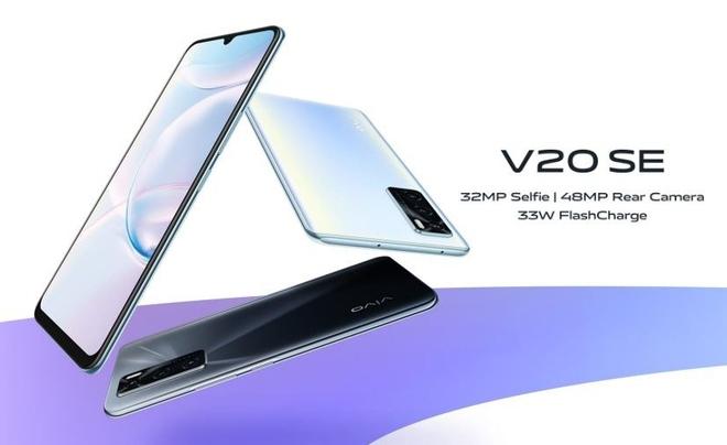 Vivo V20 SE ra mắt: Camera selfie 32MP, camera sau 48MP, sạc nhanh 33W, giá 6.7 triệu đồng - Ảnh 1.