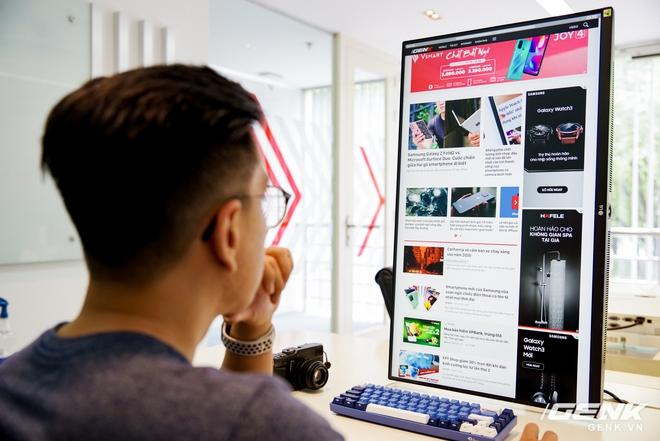 Trải nghiệm nhanh màn hình LG UltraFine Display 4K dành cho dân đồ hoạ: thiết kế tinh tế, hiển thị ấn tượng - Ảnh 16.
