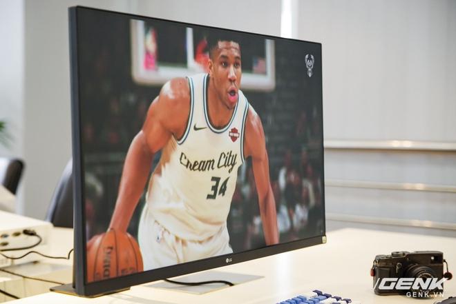 Trải nghiệm nhanh màn hình LG UltraFine Display 4K dành cho dân đồ hoạ: thiết kế tinh tế, hiển thị ấn tượng - Ảnh 14.