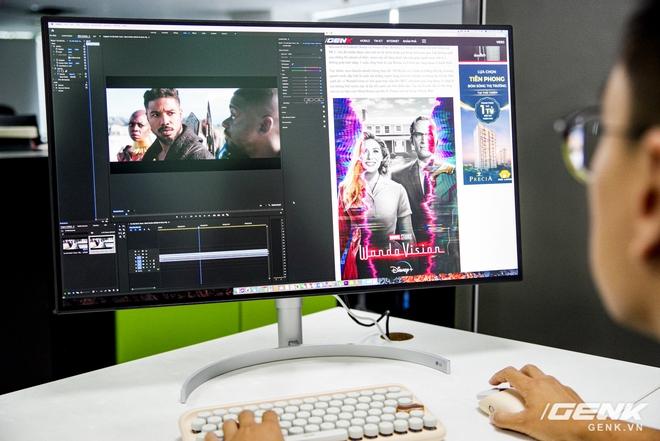 Trải nghiệm nhanh màn hình LG UltraFine Display 4K dành cho dân đồ hoạ: thiết kế tinh tế, hiển thị ấn tượng - Ảnh 26.