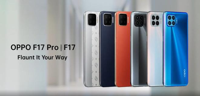 OPPO F17 và F17 Pro ra mắt: Màn hình đục lỗ, 4 camera vuông, sạc nhanh 30W - Ảnh 1.