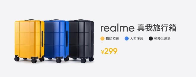 Realme ra mắt va li siêu nhẹ, sử dụng vật liệu cao cấp, có khóa số TSA, giá 1 triệu đồng - Ảnh 4.