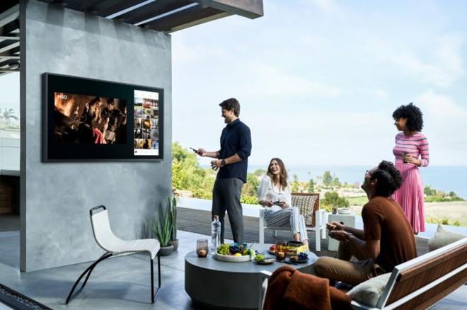 Samsung ra mắt The Terrace, mẫu TV cao cấp giá cả trăm triệu có khả năng chống chịu nắng mưa ngoài trời chuẩn IP56 - Ảnh 4.