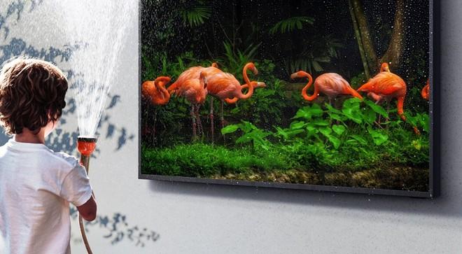 Samsung ra mắt The Terrace, mẫu TV cao cấp giá cả trăm triệu có khả năng chống chịu nắng mưa ngoài trời chuẩn IP56 - Ảnh 2.