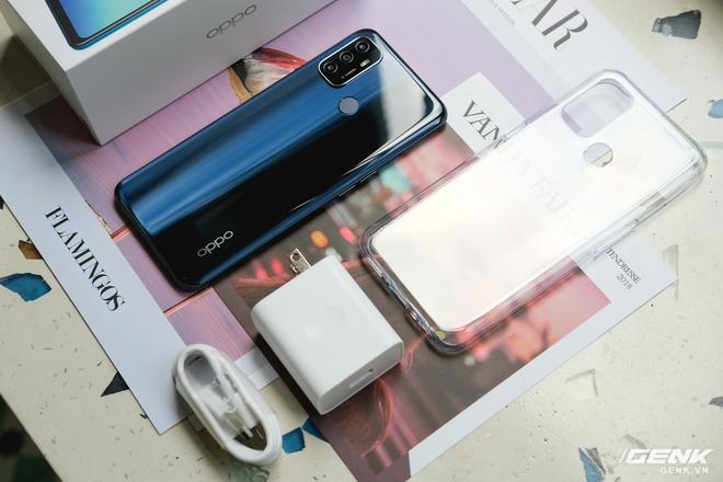 Cận cảnh smartphone giá rẻ OPPO A53 vừa ra mắt: 3 camera sau, màn 90Hz, pin 5000 mAh, sạc nhanh 18W, giá 4,49 triệu đồng - Ảnh 2.