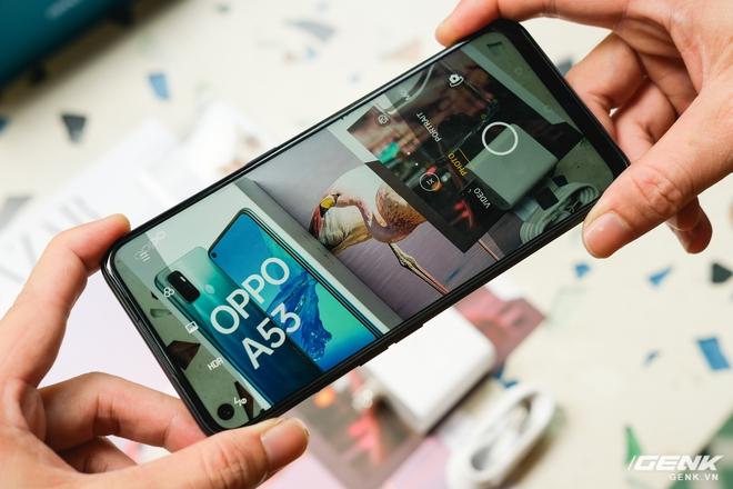 Cận cảnh smartphone giá rẻ OPPO A53 vừa ra mắt: 3 camera sau, màn 90Hz, pin 5000 mAh, sạc nhanh 18W, giá 4,49 triệu đồng - Ảnh 5.